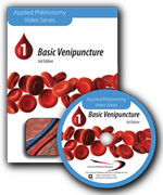 Basic Venipuncture DVD.