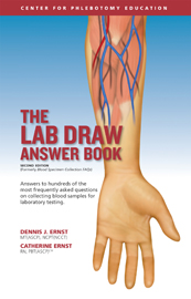 The Lab Draw Answer Book provides authoritative answers to the most commonly asked questions on phlebotomy.