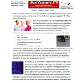 Monthly in-house Phlebotomy CE exercises for your staff and students