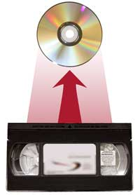 VHS to DVD upgrade